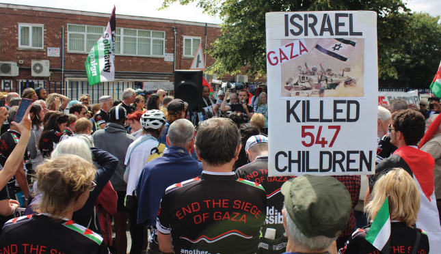 STOP ARMING ISRAEL CAMPAIGN WEEK OF ACTION 1-7th JULY 2017