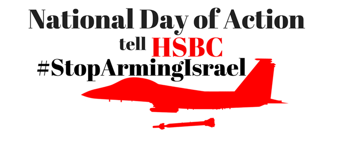 National Day of Action on HSBC – Stop Arming Israel
