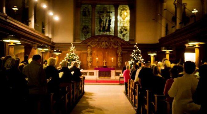 Amos Trust Carol Service 2018 with Members of the Bethlehem Choir