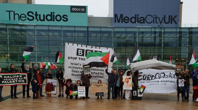 Protest Against Eurovision 2019