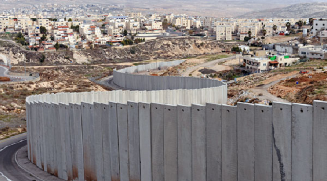 Environmental destruction of Israel's apartheid wall and illegal settlement construction