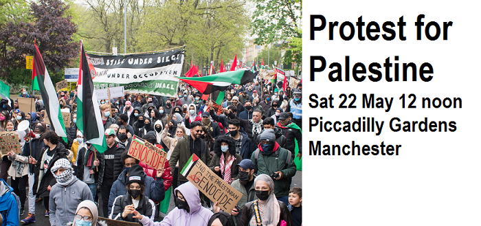 Protest for Palestine - Stop The Bombing of Gaza!!
