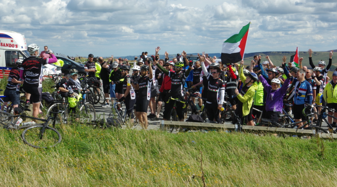 THE BIG RIDE FOR PALESTINE NORTH WEST