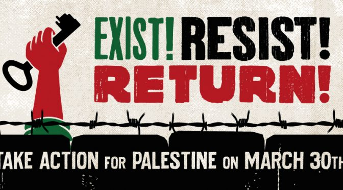 NATIONAL DAY OF ACTION: EXIST, RESIST, RETURN