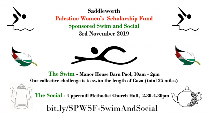 SPWSF Autumn Fund Raiser: Sponsored Swim & Social