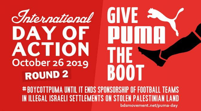 Boycott Puma Day of Action