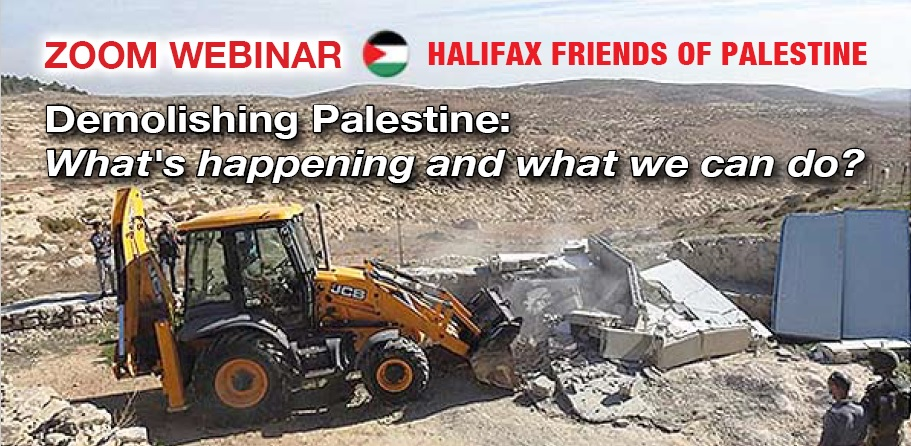 Demolishing Palestine